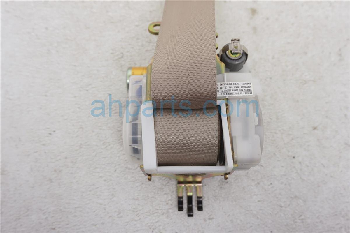 2001 Lexus Ls430 Rear Passenger Seat Belt Tan 73360 50180 A0 Replacement