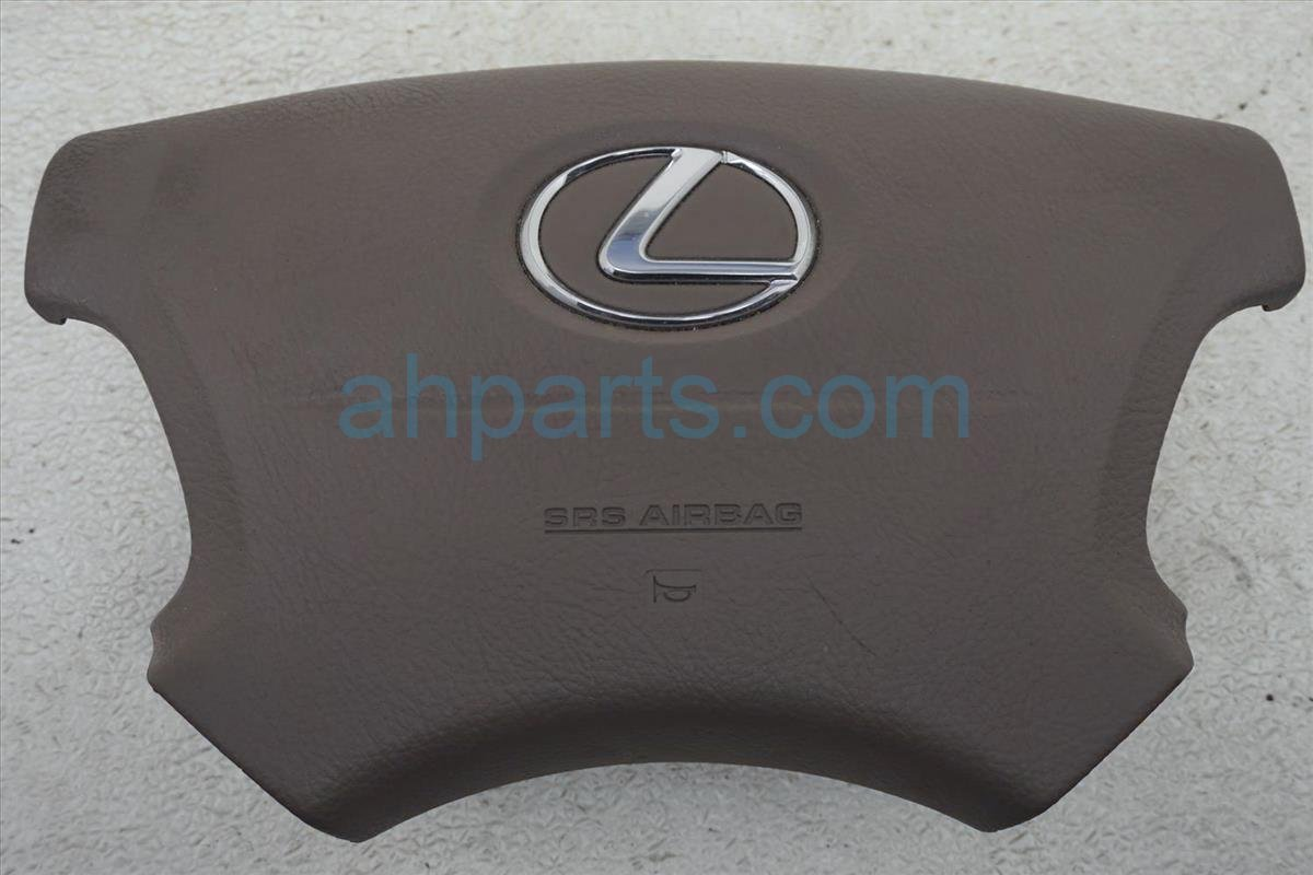 2001 Lexus Ls430 Driver Wheel Airbag (air Bag) Brown 45130 50180 E0 Replacement