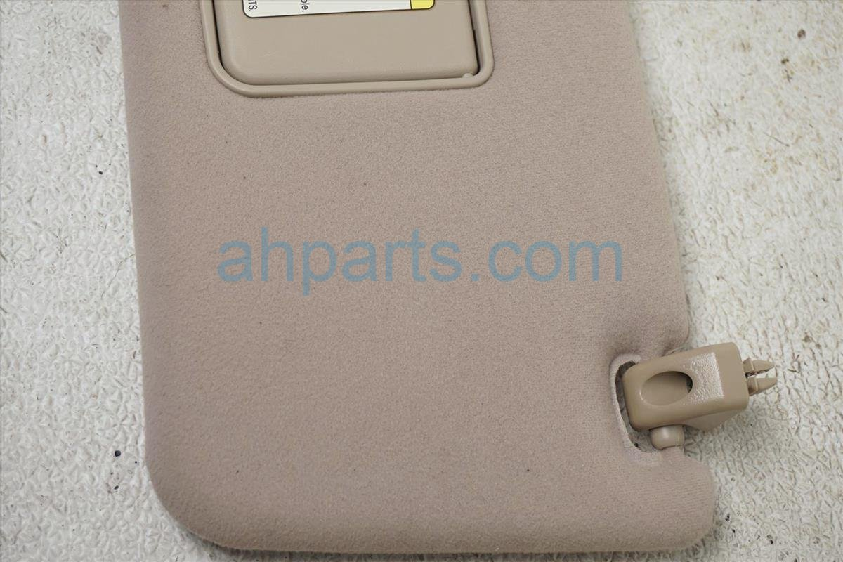 2001 Lexus Ls430 Driver Sun Visor Tan 74320 50170 A0 Replacement