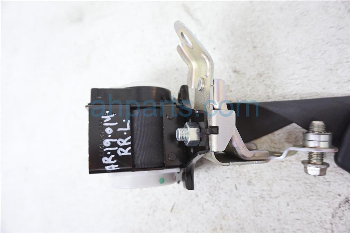 2016 Scion FR S Rear Driver Seat Belt Black SU003 01884 Replacement