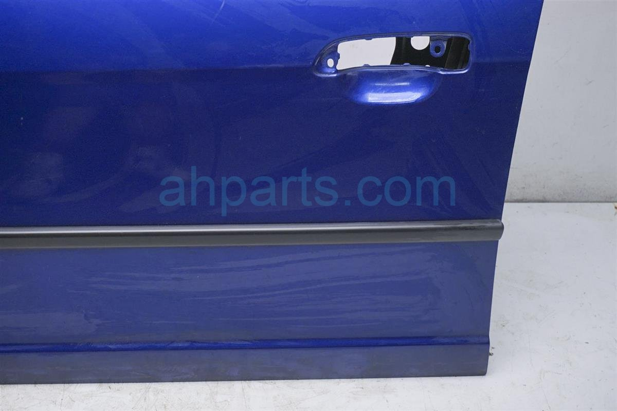 2004 Honda Civic Front Driver Door   Shell Blue 67050 S5A A91ZZ Replacement