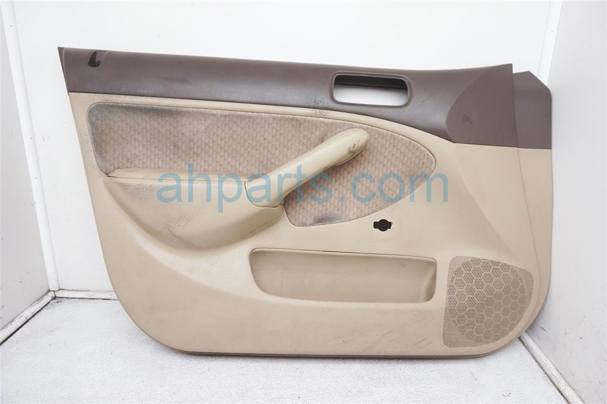 2004 Honda Civic Trim / Liner Front Driver Door Panel No Switch Tan 83583 S5D A11ZB Replacement