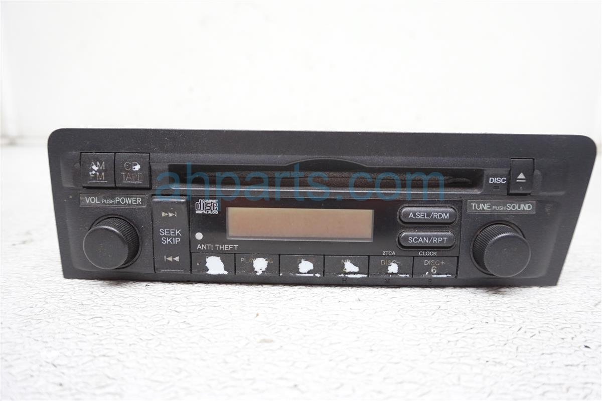 2004 Honda Civic Am/fm/cd Radio 39101 S5A A210 M1 Replacement