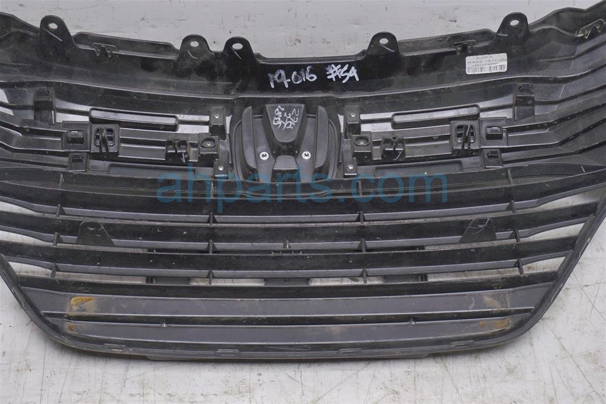 2017 Honda HR V Grille   Blk/silver 71121 T7W A00 Replacement