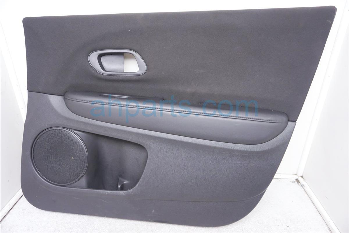 2017 Honda HR V Front Passenger Door Panel (trim Liner) Black 83502 T7W A01ZD Replacement