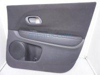 $150 Honda FR/RH DOOR PANEL (TRIM LINER) BLACK