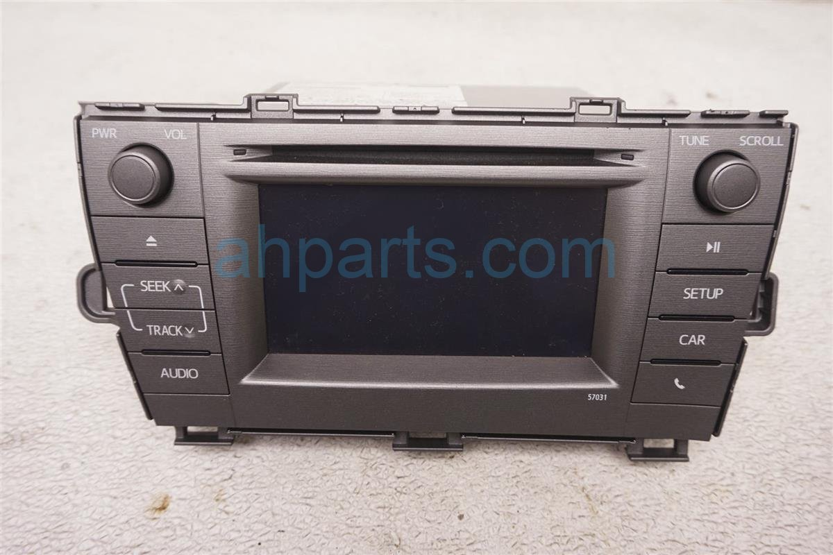 2012 Toyota Prius Am/fm/cd Radio 57031 86140 47050 Replacement
