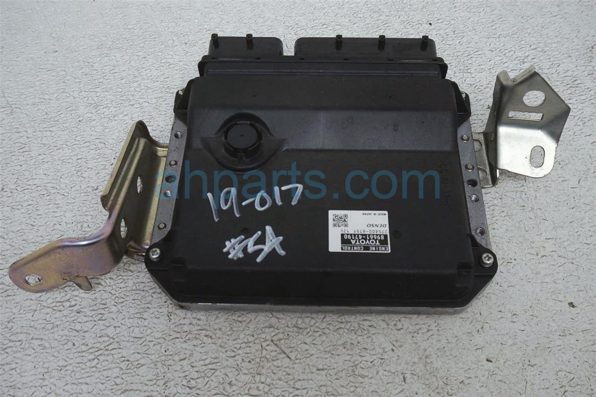 2012 Toyota Prius Ecu Control Module / Engine Computer   At   89661 47190 Replacement