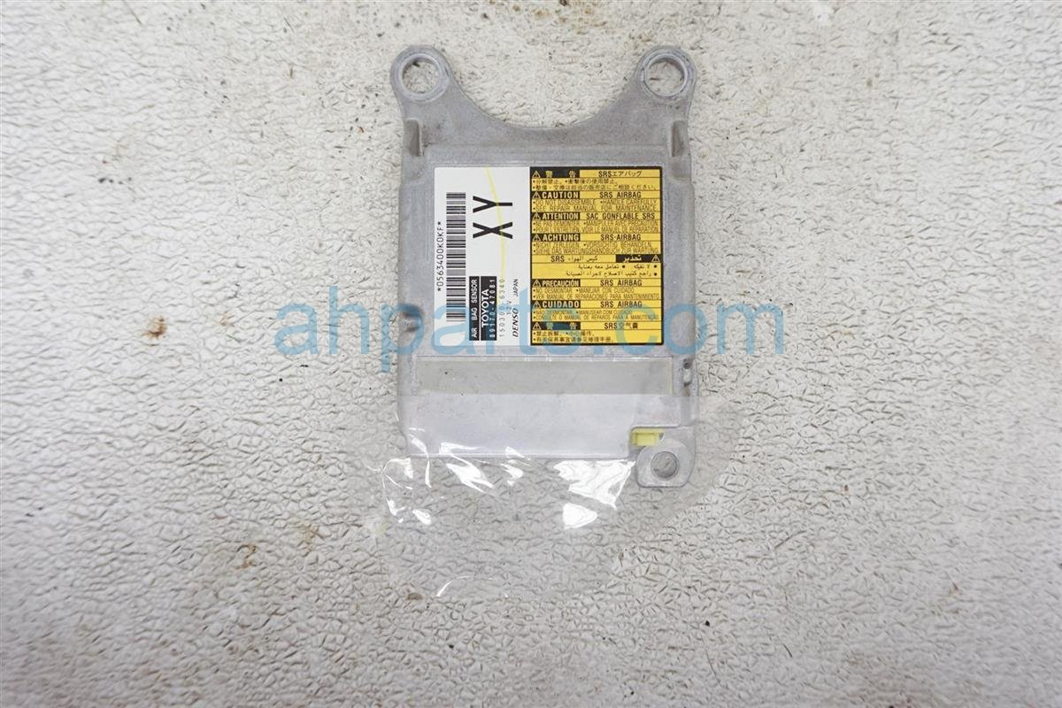2012 Toyota Prius Srs Airbag Computer Bad Needs Reset 89170 47081 Replacement