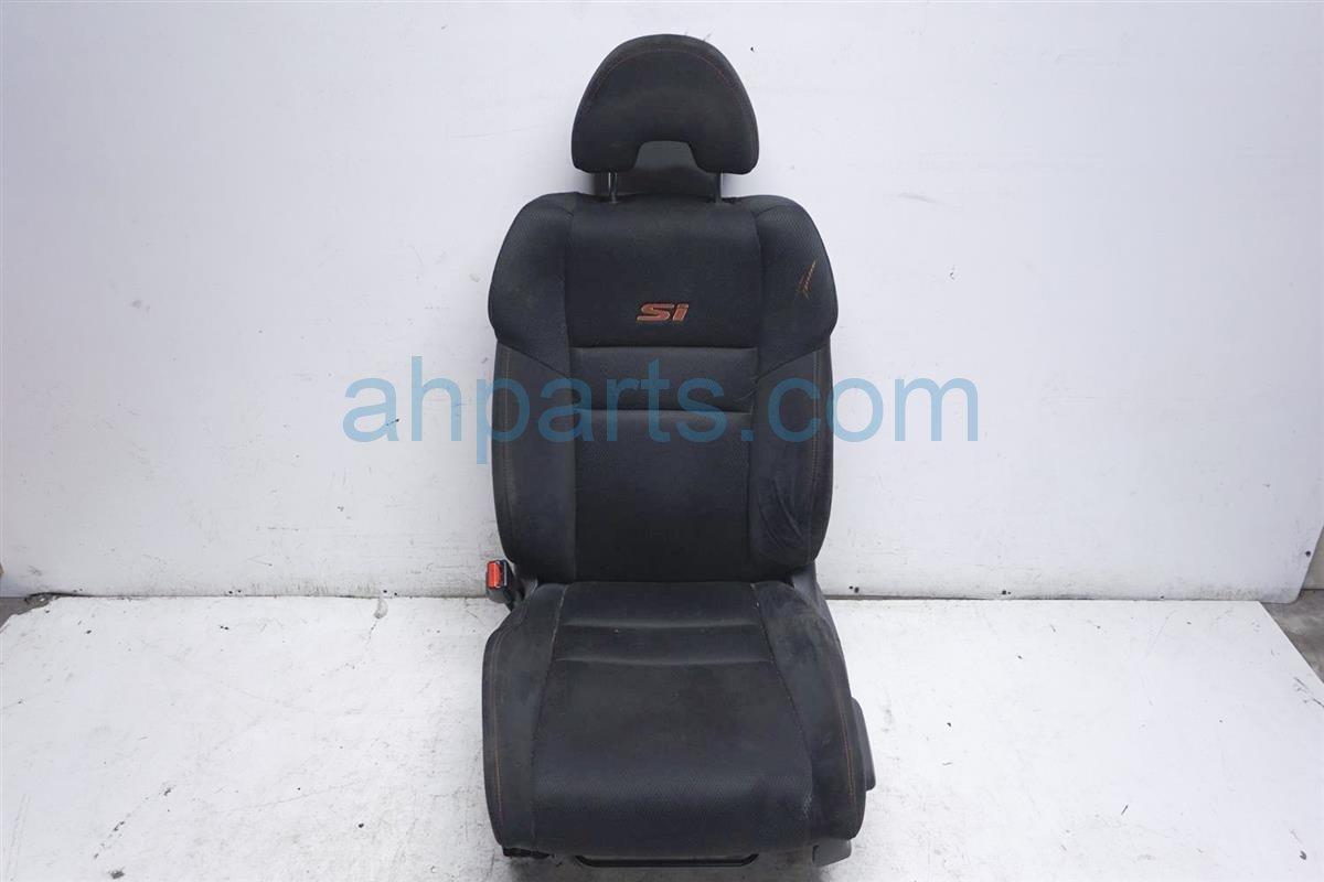 2006 Honda Civic Front Driver Seat Black Si 81126 SVA 306 Replacement