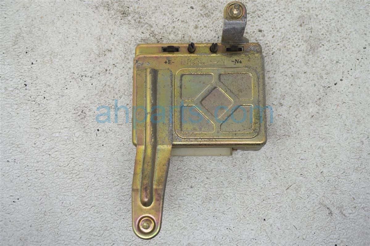 1984 Nissan 300zx Control Module Replacement