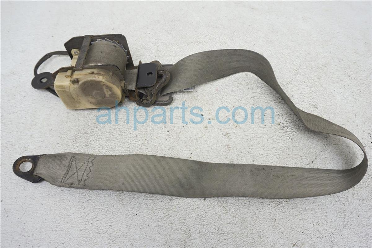 1984 Nissan 300zx Front Driver Seat Belt   Gray 86841 04P17 Replacement