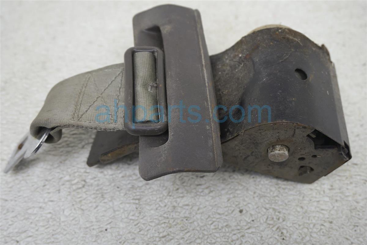 1984 Nissan 300zx Rear Passenger Seat Belt   Gray 88820 04P02 Replacement