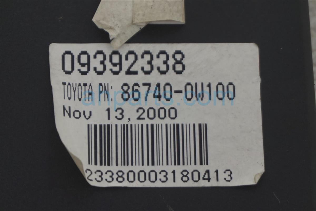 2001 Lexus Ls430 Transceiver Control Unit 86740 0W100 Replacement
