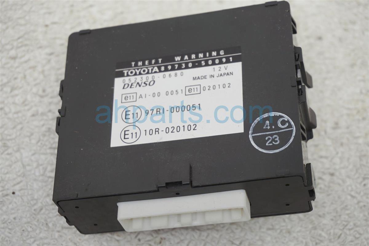 2001 Lexus Ls430 Theft Locking Control Unit 89730 50091 Replacement