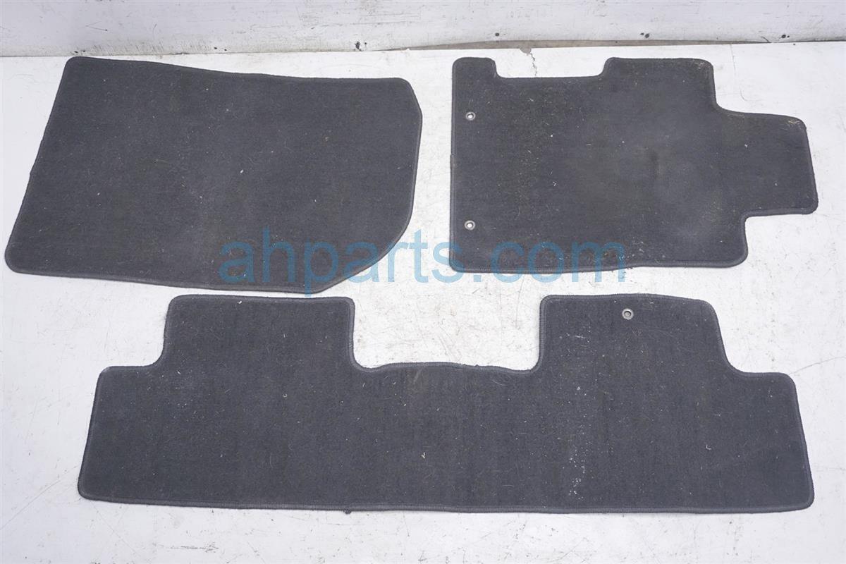 2006 Honda Civic Floor Mat (set Of 3)   Black 83600 SVA A01ZA Replacement