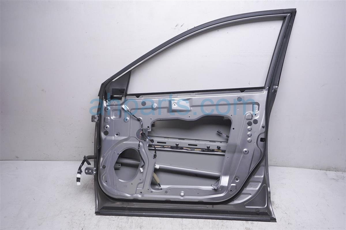 2012 Nissan Rogue Front Passenger Door   Shell Gray H010M 1VXMA Replacement