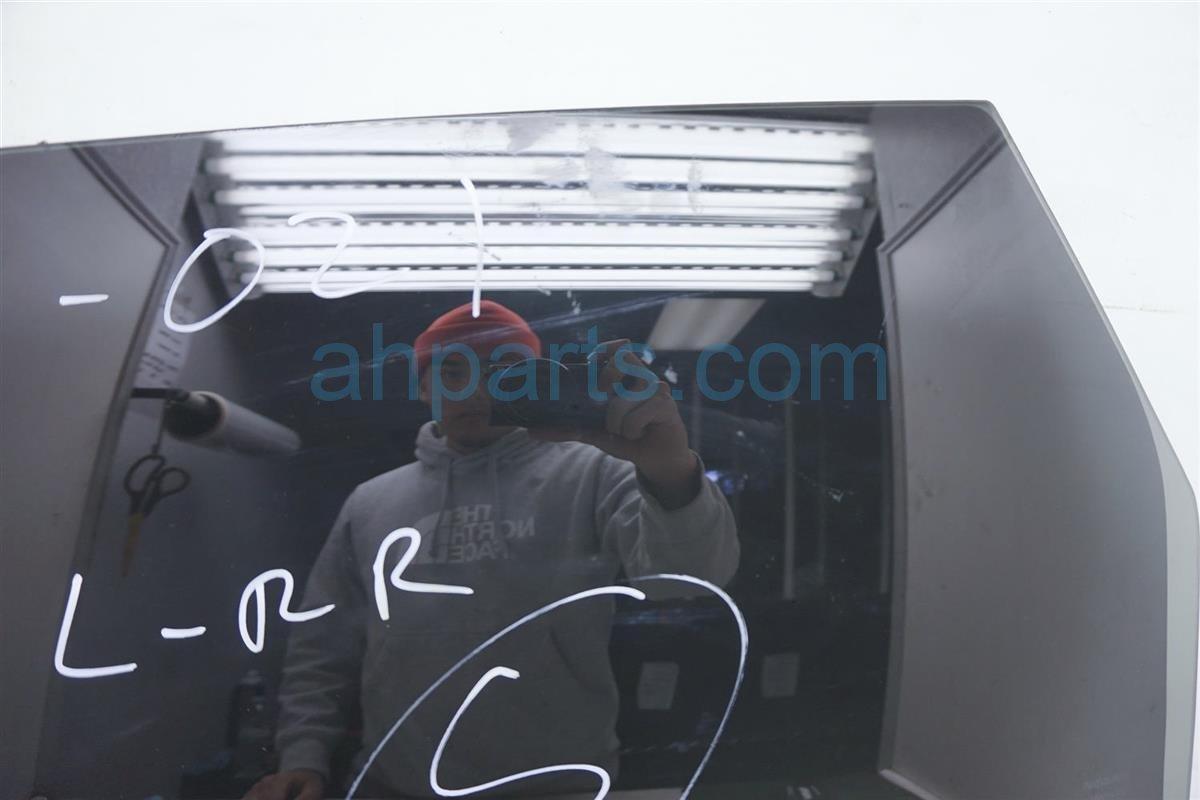 2012 Nissan Rogue 4dr Rear Driver Door Glass Window 82301 JM01B Replacement