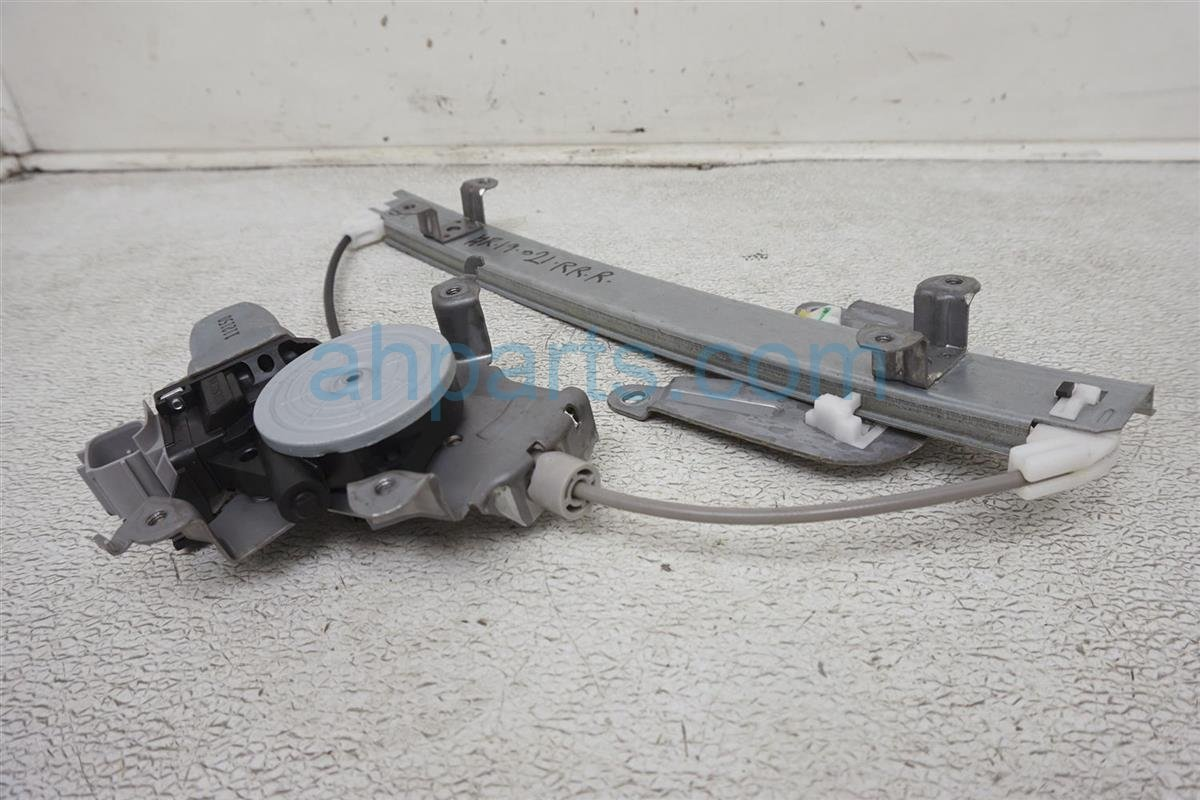 2012 Nissan Rogue Rear Passenger Window Regulator & Motor 82720 JM00A Replacement
