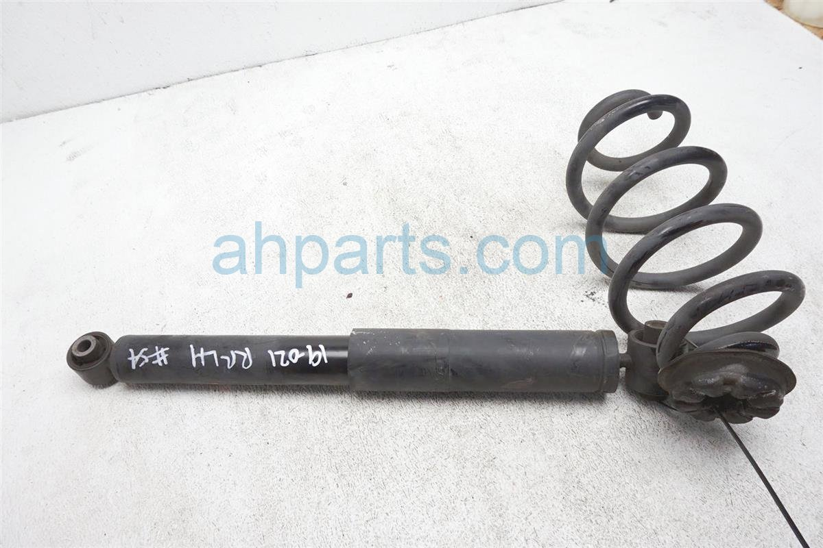 2012 Nissan Rogue Absorber Rear Driver Strut Shock + Spring E6210 JM01A Replacement