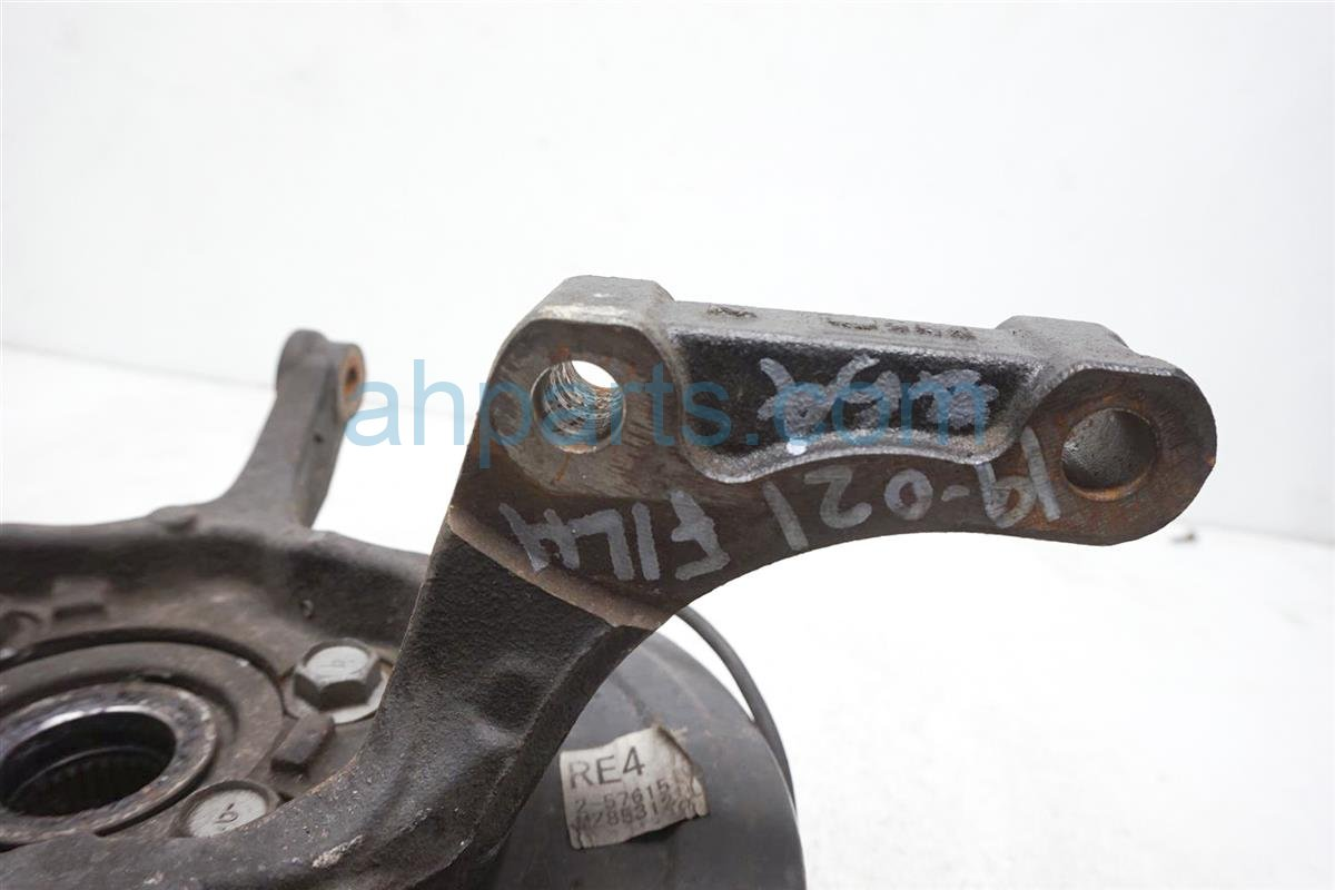 2012 Nissan Rogue Hub Front Driver Spindle Knuckle + Sensor Wire 40015 JG000 Replacement