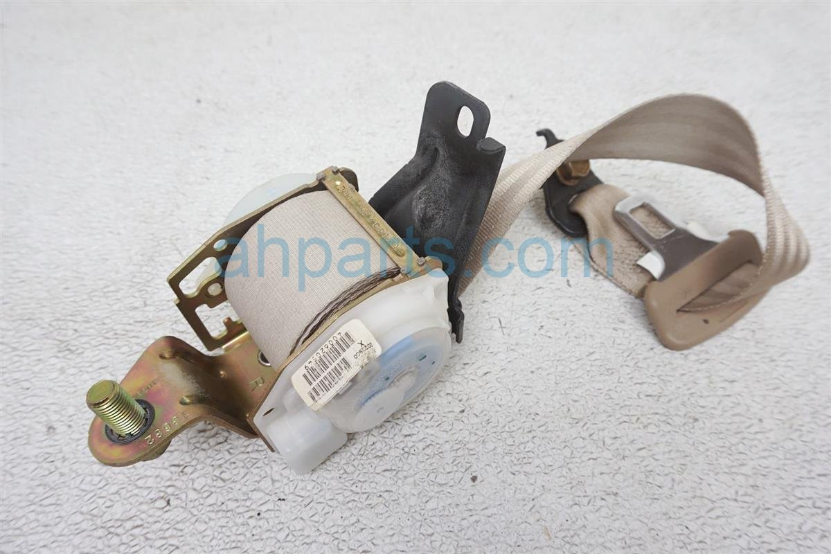 2004 Honda Civic Rear Passenger Seat Belt   Tan 04826 S5D A12ZC Replacement