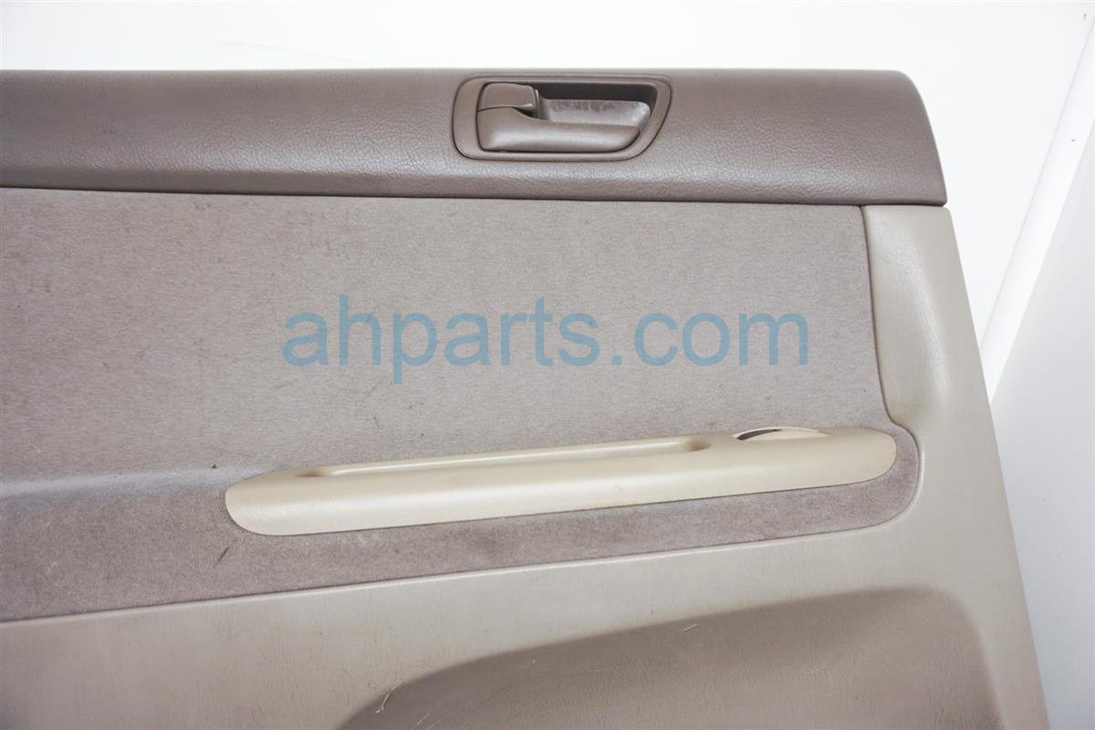 2003 Toyota Camry Rear Driver Door Panel (trim Liner) Tan 67640 AA101 E0 Replacement