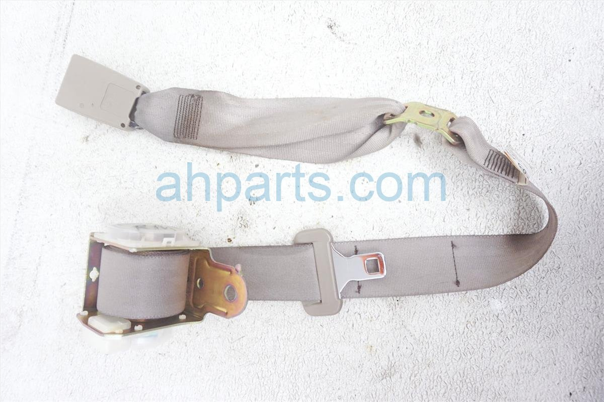 Sold 2003 Toyota Camry Rear Mid Seat Belt Tan 73480 AA090 Replacement