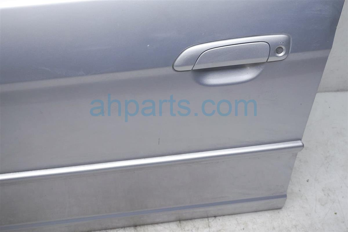 2003 Honda Civic Front Driver Door   Shell Silver Minor Dings Replacement