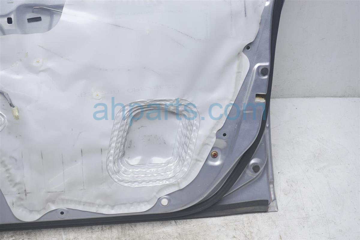 2003 Honda Civic Front Passenger Door   Shell Silver Minor Dings Replacement