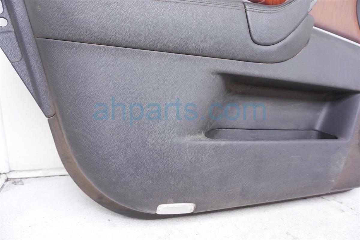 2009 Infiniti Fx50 Trim / Liner Front Driver Door Panel   Gray 80901 1CB0B Replacement