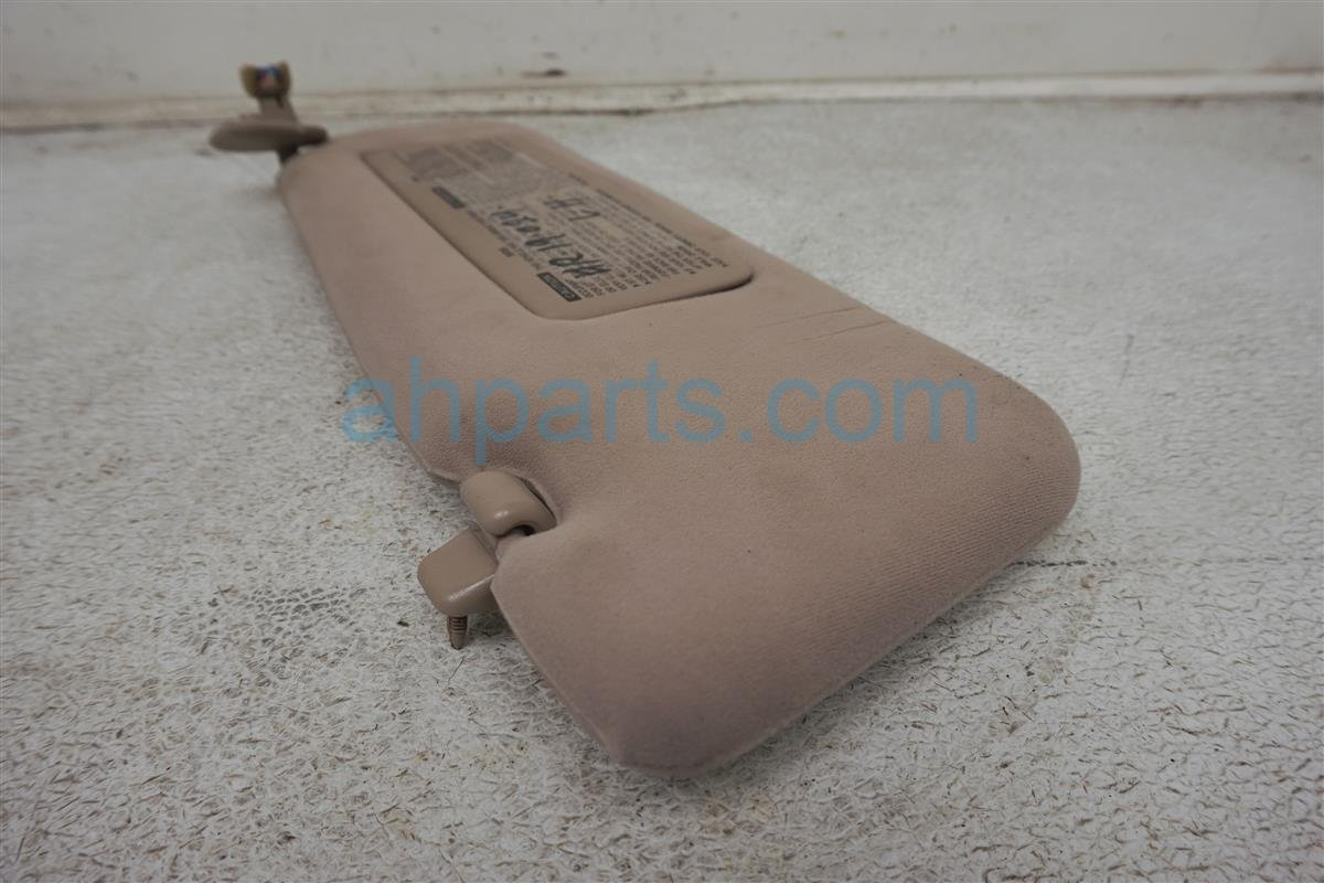 1994 Lexus Es300 Passenger Sun Visor Tan 74310 33410 E0 Replacement