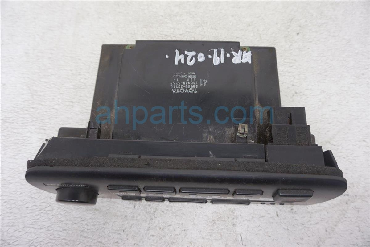 1994 Lexus Es300 Temperature Climate Heater/ac Control(on Dash) 55900 33111 Replacement