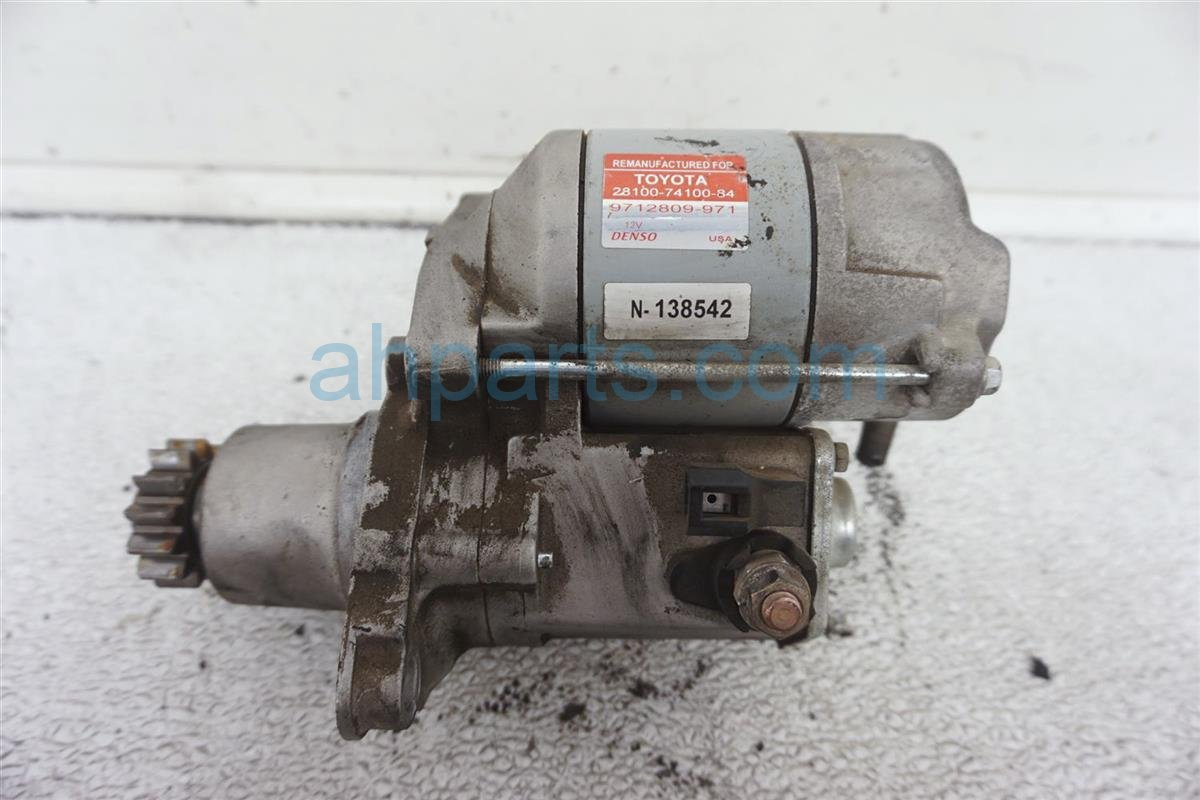 1994 Lexus Es300 Starter Motor 28100 74100 84 Replacement