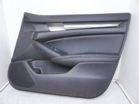 $160 Honda FR/RH DOOR PANEL (TRIM LINER) BLACK