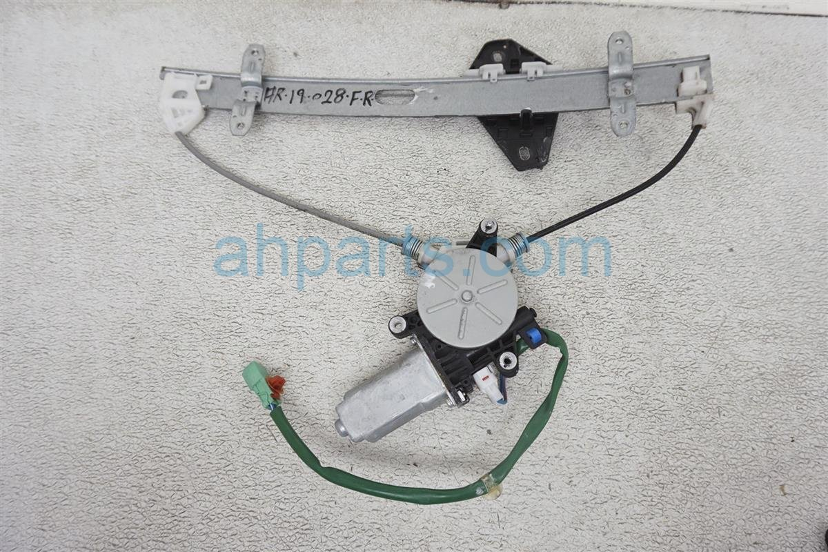 2006 Acura RSX Front 2dr Passenger Window Regulator & Motor 72210 S6M A02 Replacement