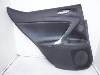 $150 Lexus RR/LH DOOR PANEL (TRIM LINER) BLACK