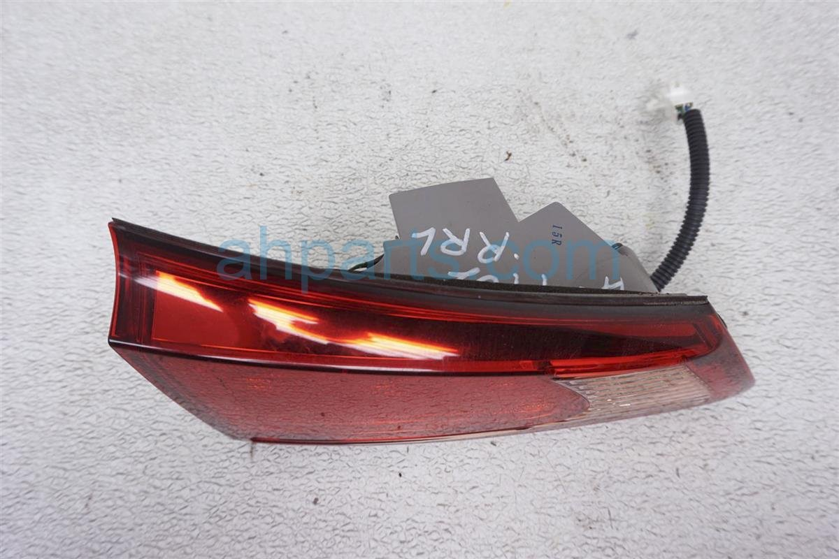2011 Lexus Is 250 Rear Driver Tail Lamp   Light On Trunk 81591 53130 Replacement