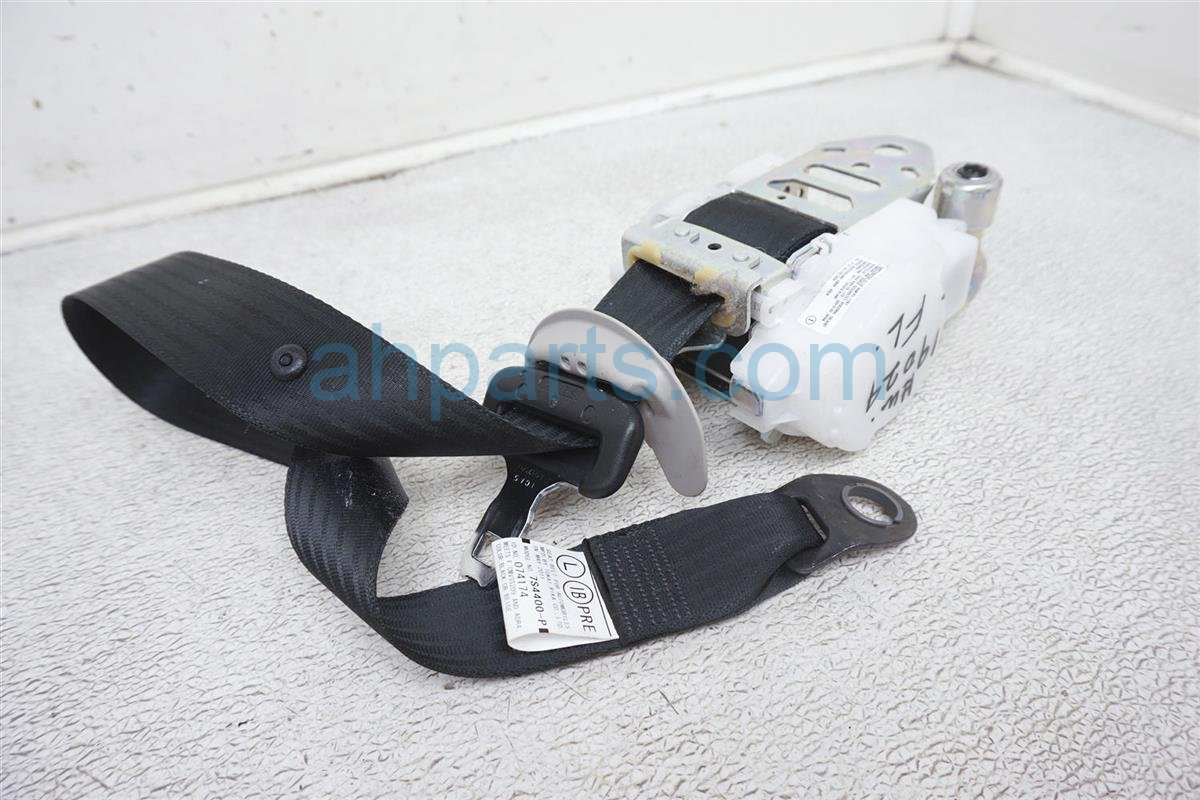2011 Lexus Is 250 Front Driver Seat Belt Black 73220 53272 C1 Replacement
