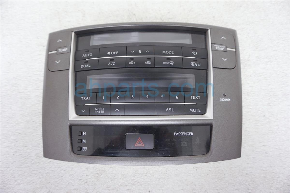 2011 Lexus Is 250 Temperature Climate Heater/ac Control(on Dash)   8401053440 Replacement