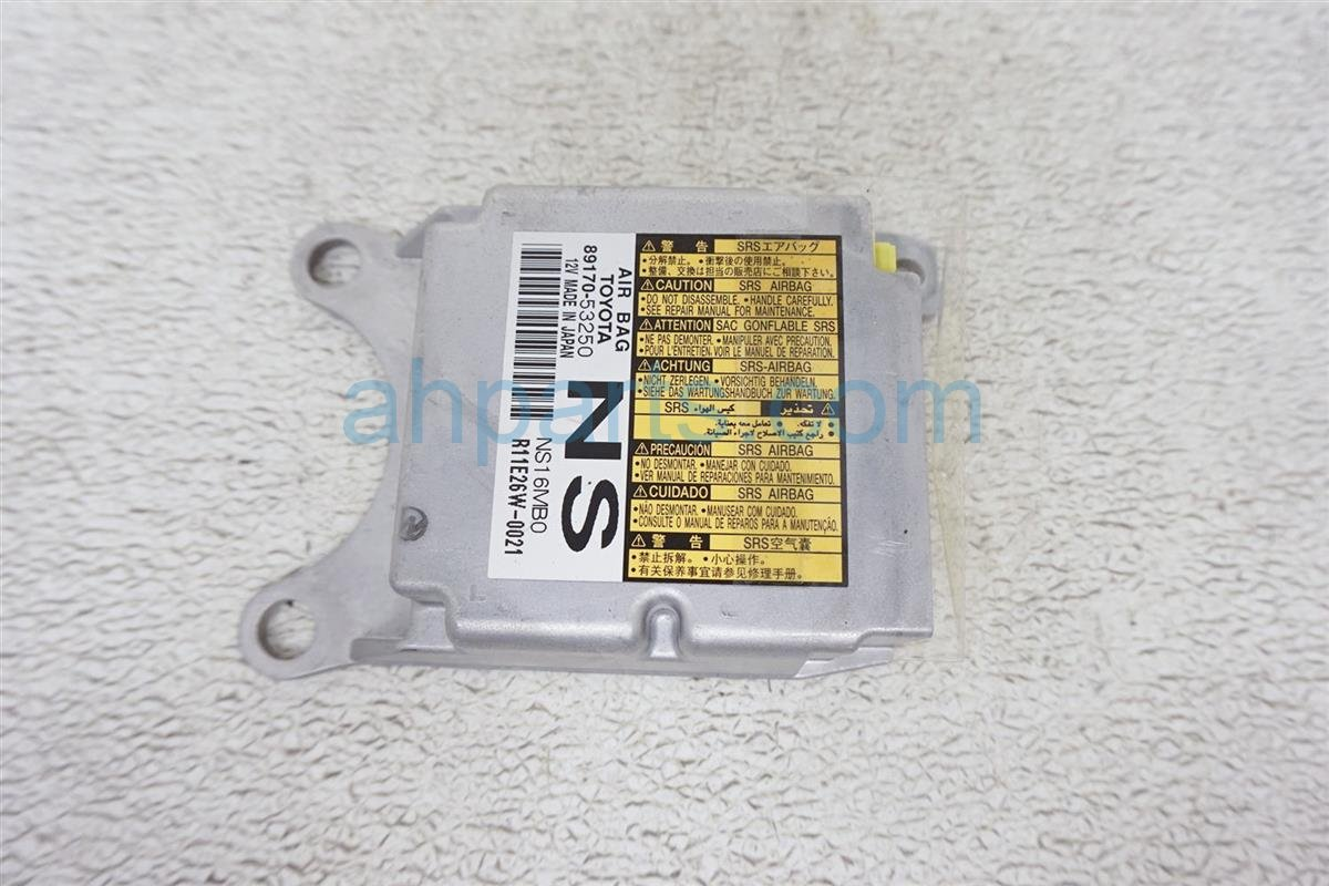 2011 Lexus Is 250 Srs Airbag Computer Module 89170 53250 Replacement