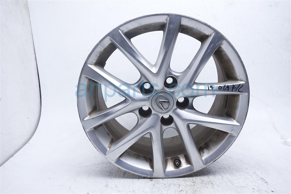2011 Lexus Is 250 Front Driver Wheel/rim Has Scratches 42611 WY080 Replacement