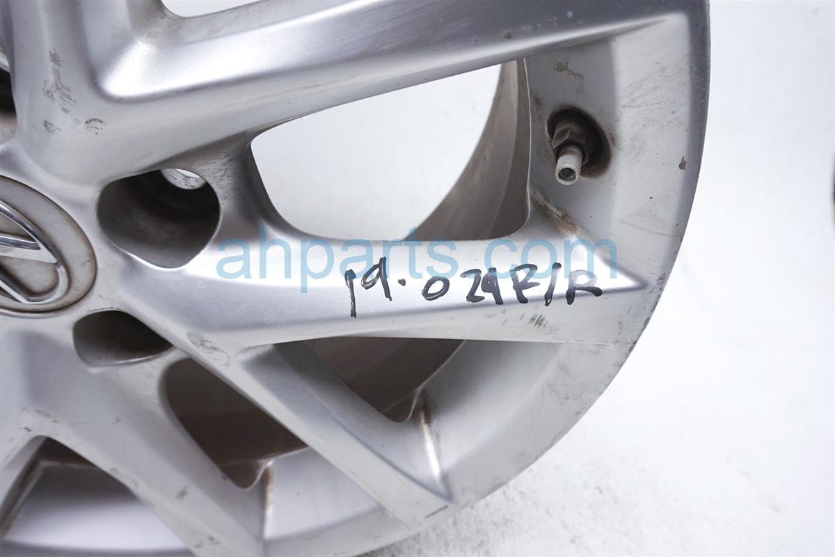 2011 Lexus Is 250 Rear Passenger Wheel/rim Light Scratches 42611 WY080 Replacement