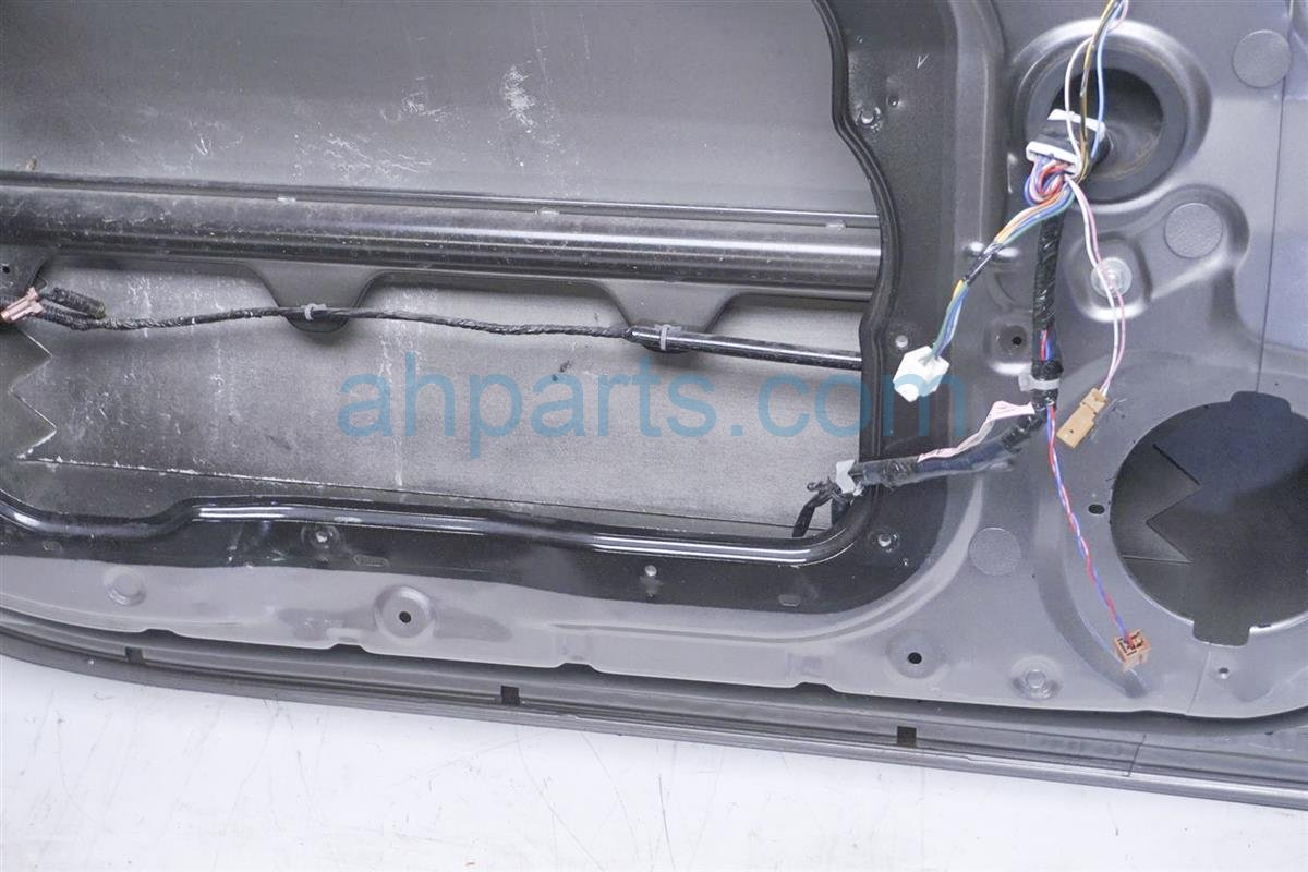 2008 Nissan 350z Front Driver Door   Shell Gray Replacement