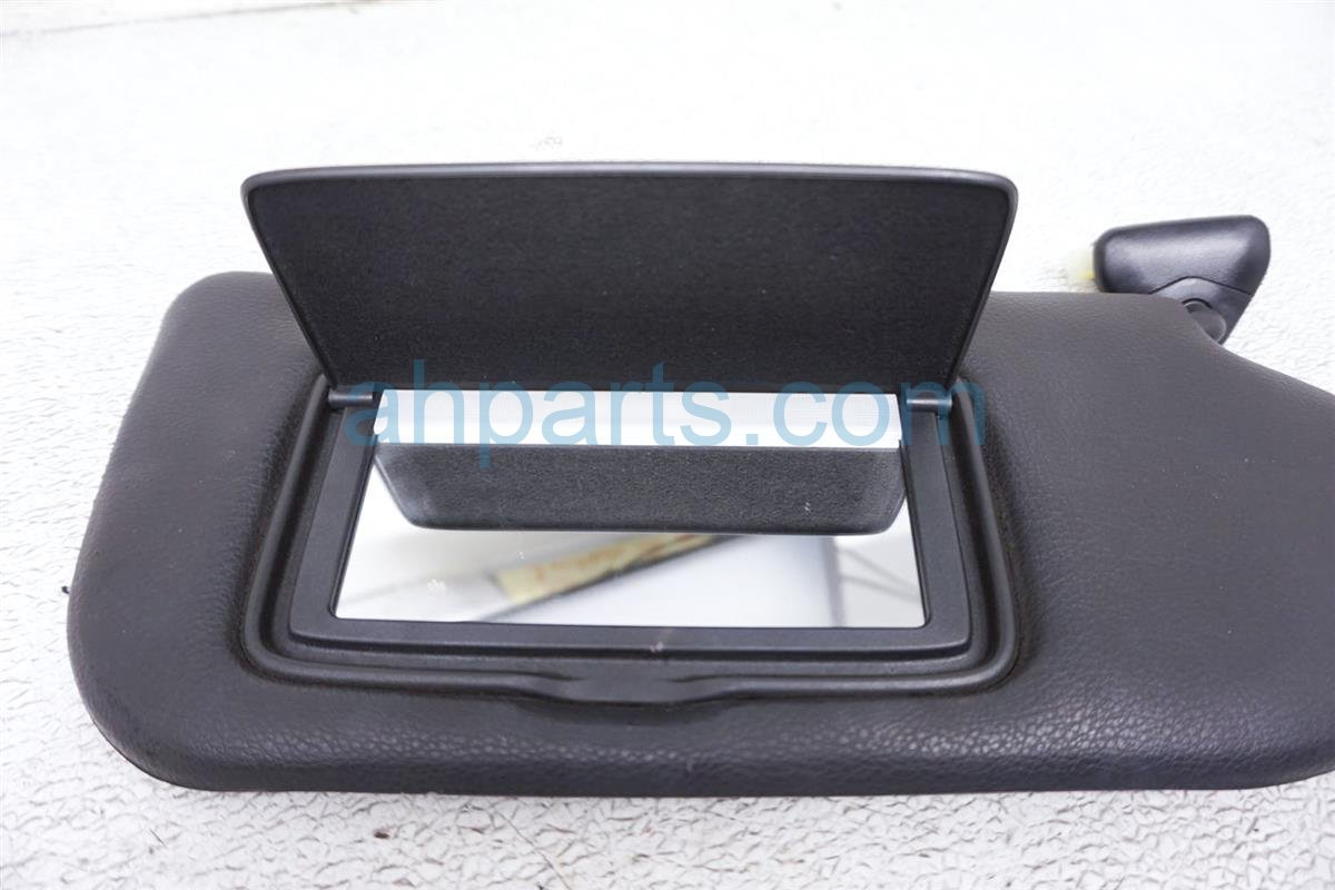 2008 Nissan 350z Passenger Sun Visor Black 96400 EV11A Replacement