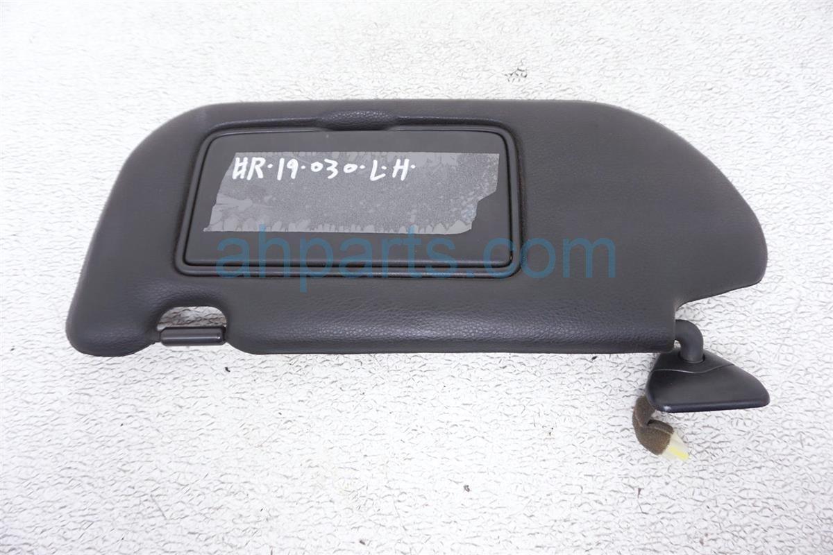 2008 Nissan 350z Driver Sun Visor Black 96401 EV11A Replacement