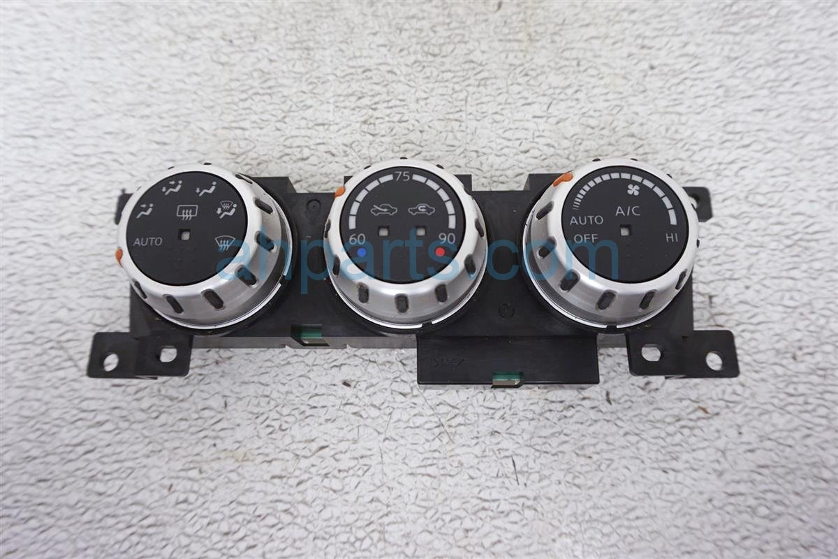 2008 Nissan 350z Temperature Climate Heater/ac Control(on Dash) 27500 CF40B Replacement
