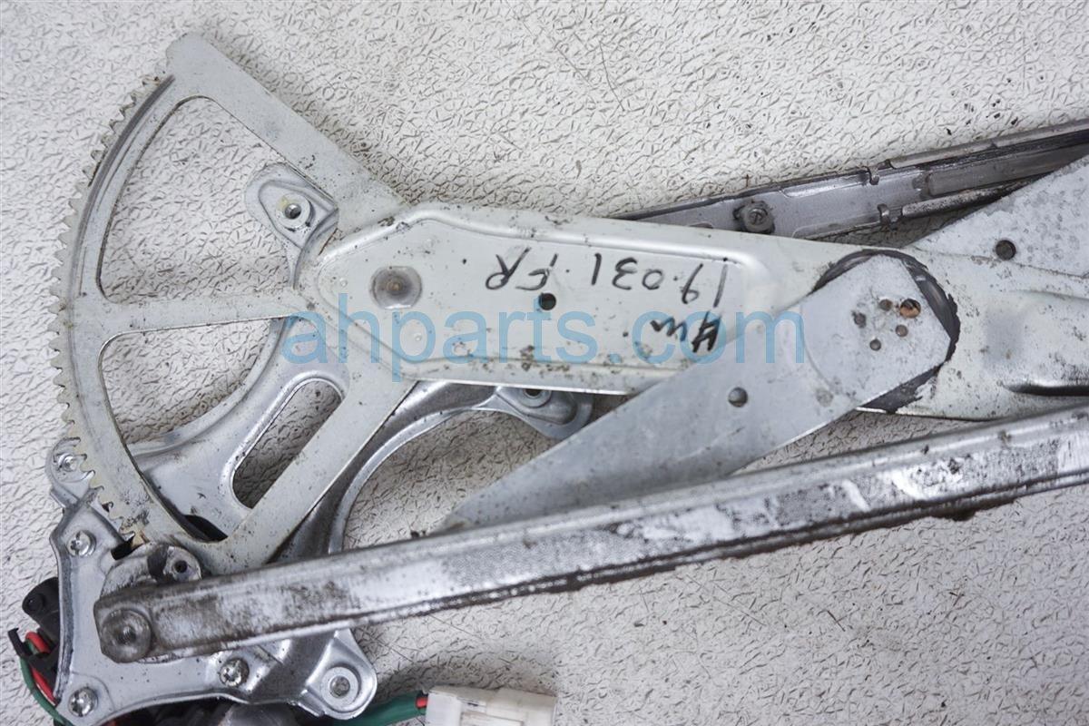 1999 Lexus Gs 400 Front Passenger Window Regulator & Motor 85710 30340 Replacement