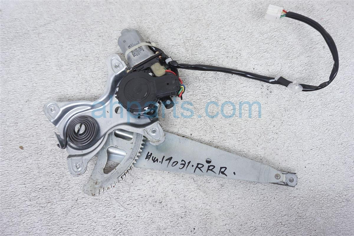 1999 Lexus Gs 400 Rear Passenger Window Regulator & Motor 69803 30240 Replacement