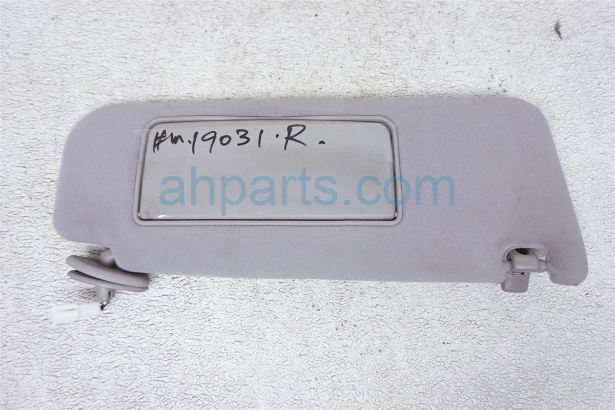 1999 Lexus Gs 400 Passenger Sun Visor Gray 74310 3A080 B0 Replacement